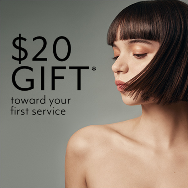 $20 gift toward your first service